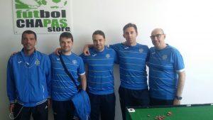 Equipo Alcala (Juanma, JOse, Sergio, Aitor y Guille)